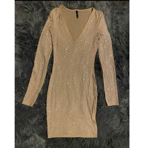 Fashion nova Rhinestones dress